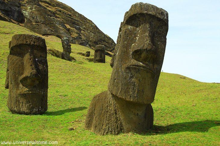 moai, chile, Easter island, Rapa nui